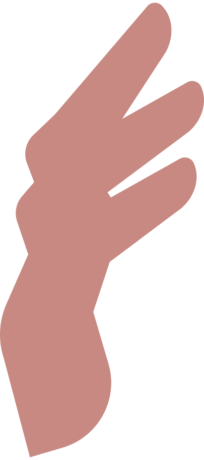 order completed  man 4 fingers Clipart illustration in PNG, SVG