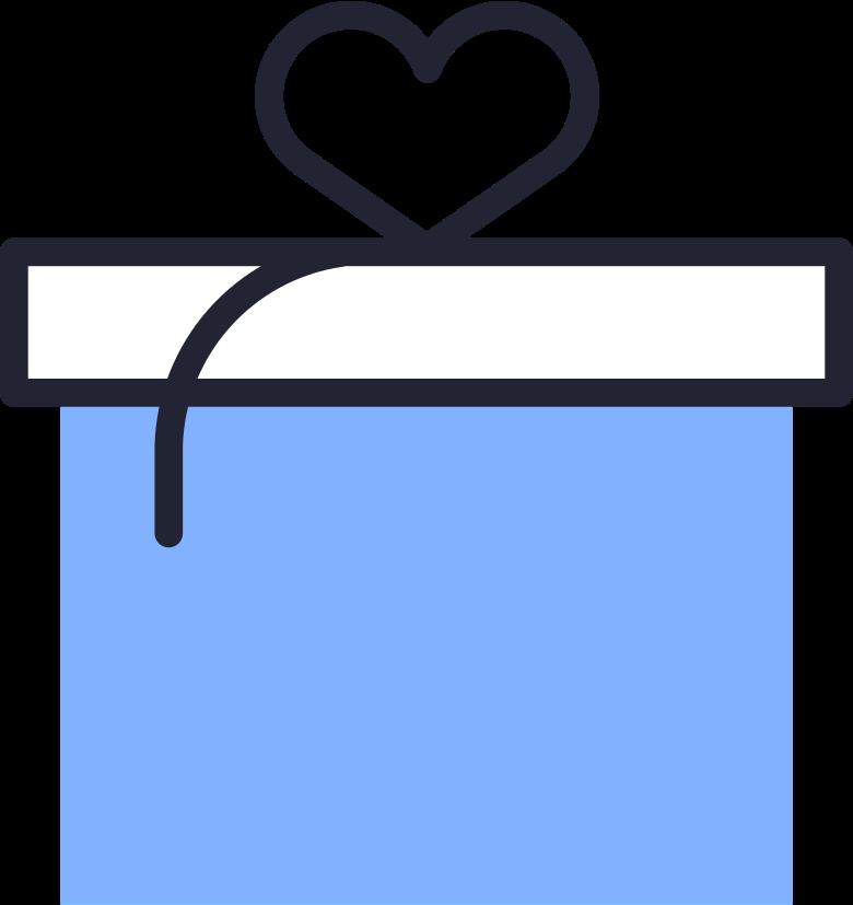 Ilustración de clipart de gift en PNG, SVG