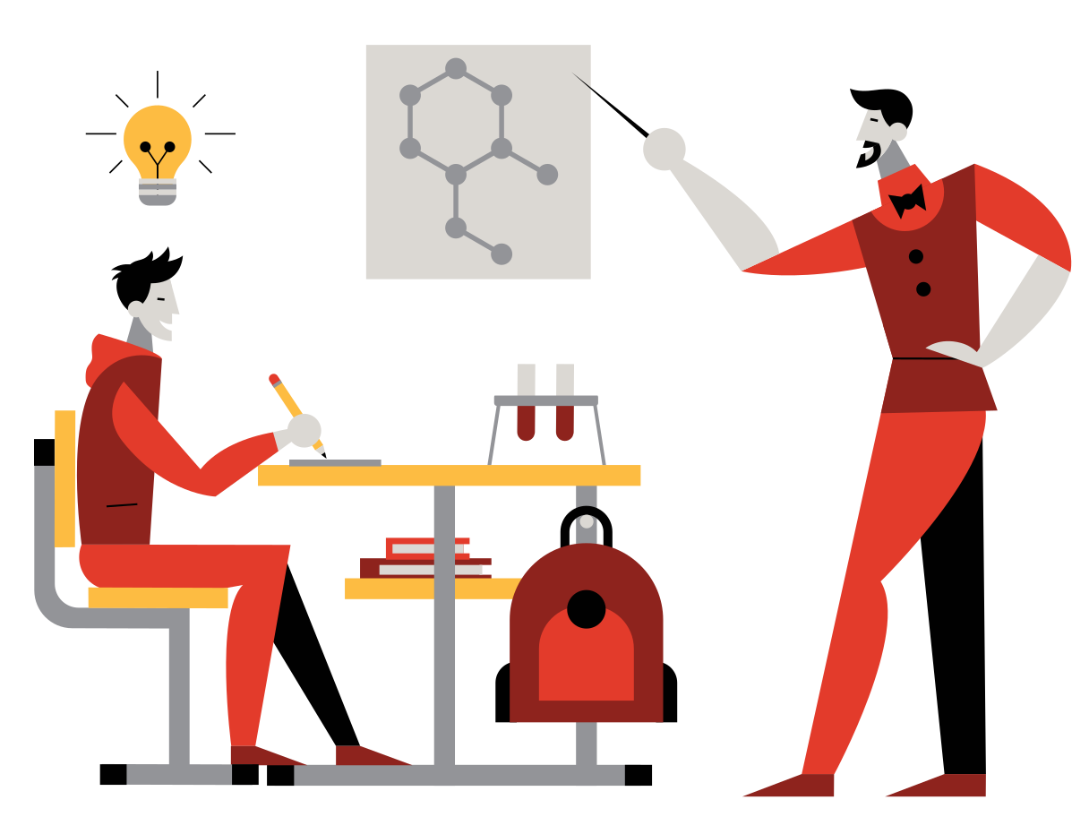 style Chemistry Lesson Vector images in PNG and SVG | Icons8 Illustrations