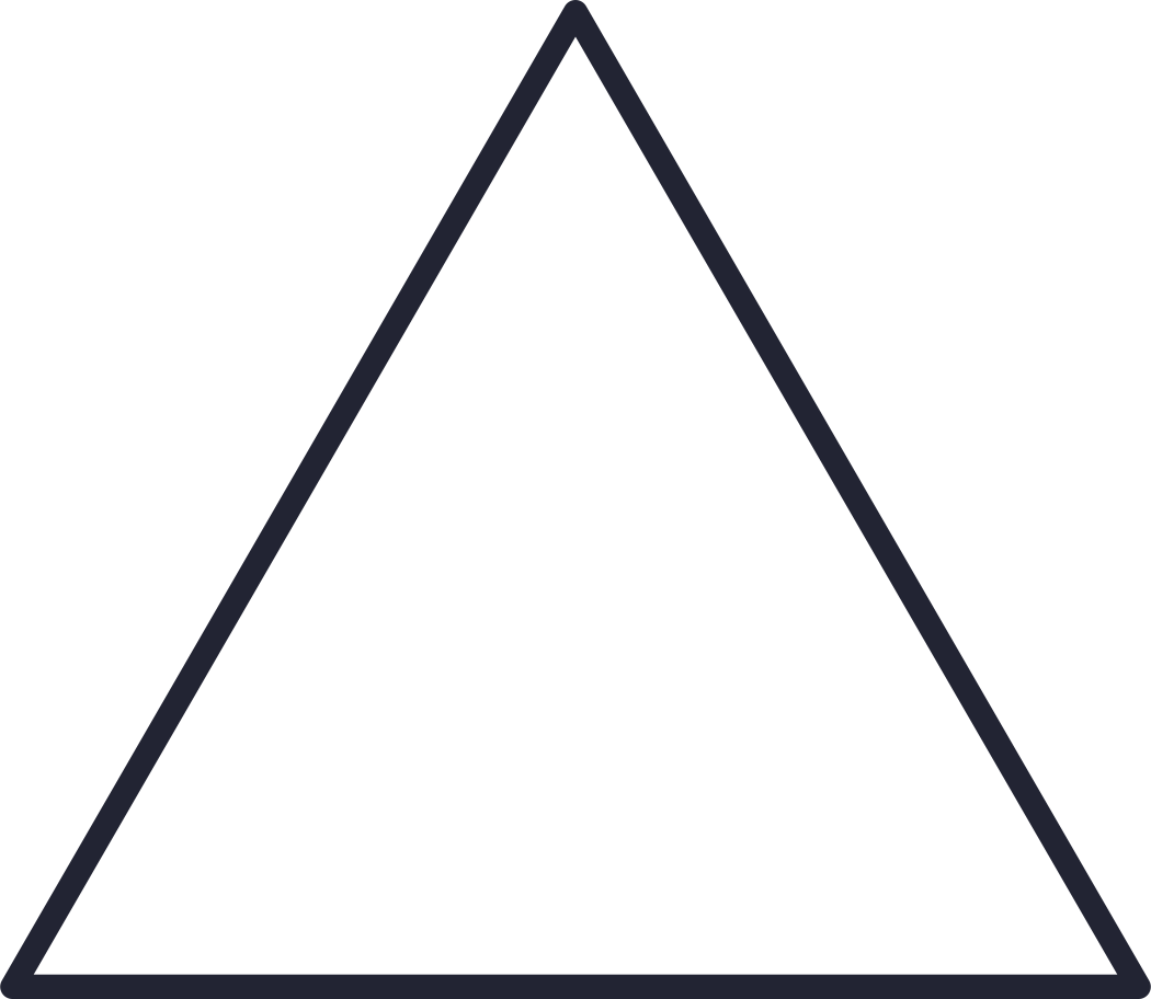 augmented reality  triangle white Clipart illustration in PNG, SVG
