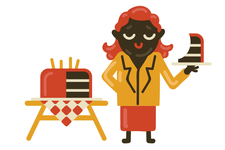 style Very good cake Vector images in PNG and SVG | Icons8 Illustrations