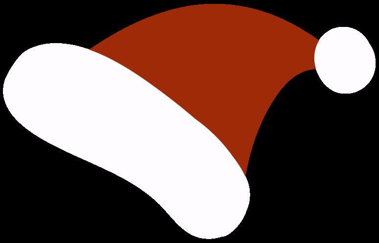 santa claus hat Clipart illustration in PNG, SVG