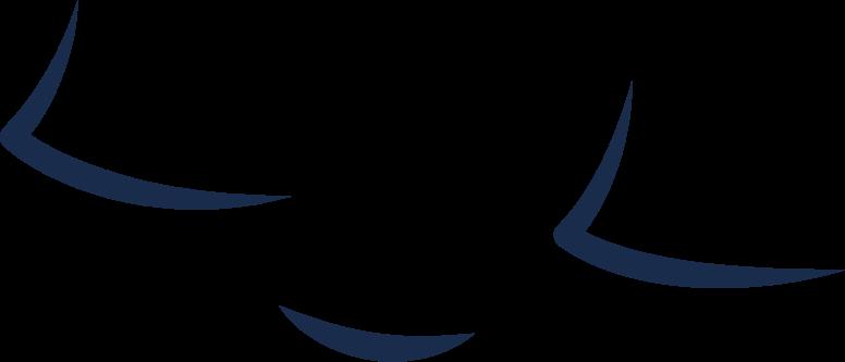 平和な穏やかな顔 のPNG、SVGクリップアートイラスト