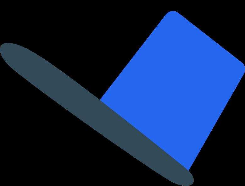 postman hat Clipart illustration in PNG, SVG