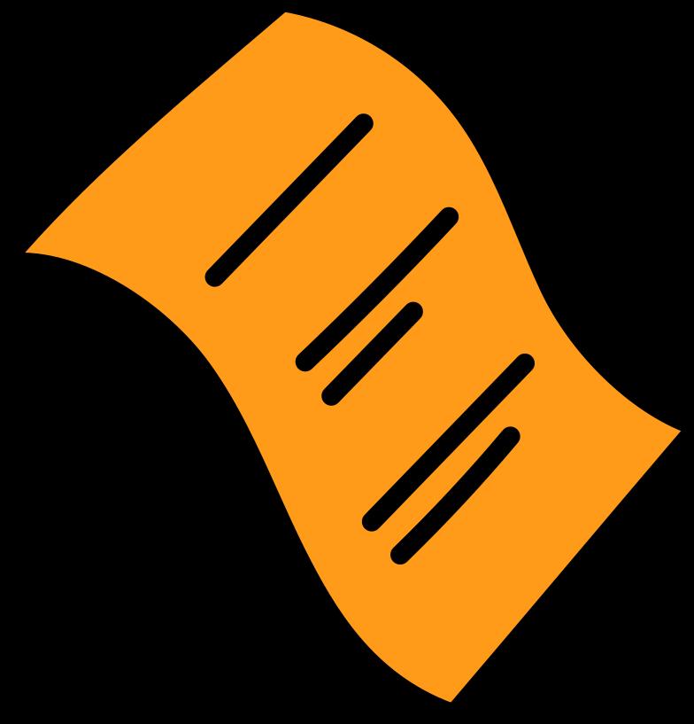 delete confimation  paper filled Clipart illustration in PNG, SVG