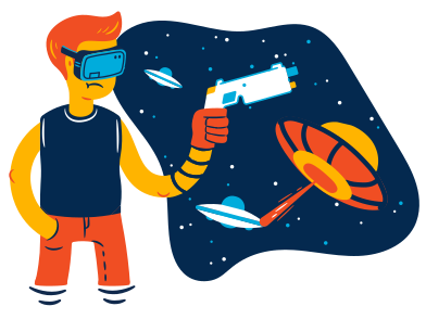 style VR battle images in PNG and SVG | Icons8 Illustrations