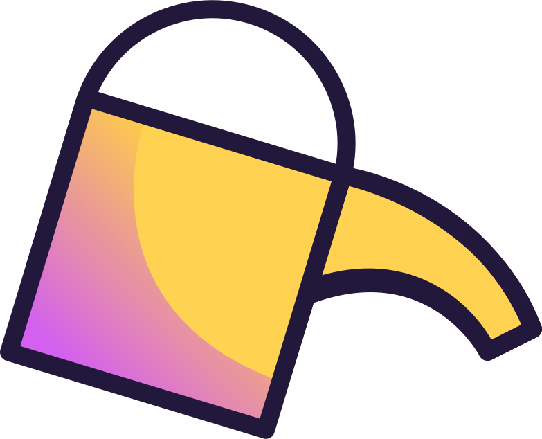 growth  watering can Clipart illustration in PNG, SVG