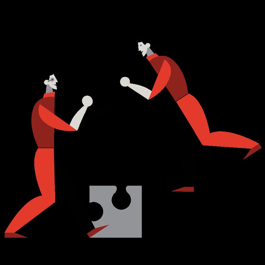 Vektorgrafik im  Stil Zusammenarbeit als PNG und SVG   Icons8 Grafiken