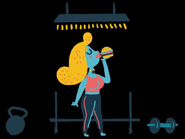 Style  Manger des hamburgers Images vectorielles en PNG et SVG | Icons8 Illustrations