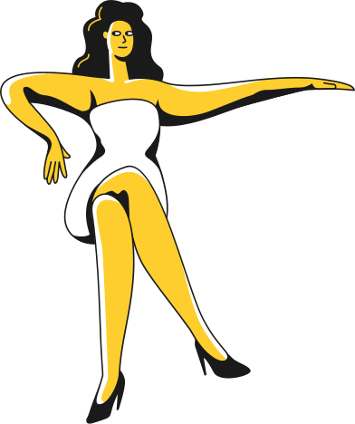 style sitting woman images in PNG and SVG | Icons8 Illustrations