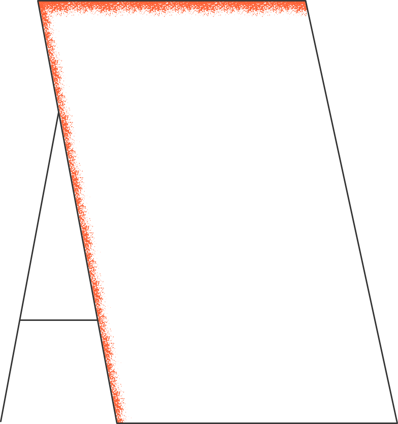 whiteboard Clipart illustration in PNG, SVG