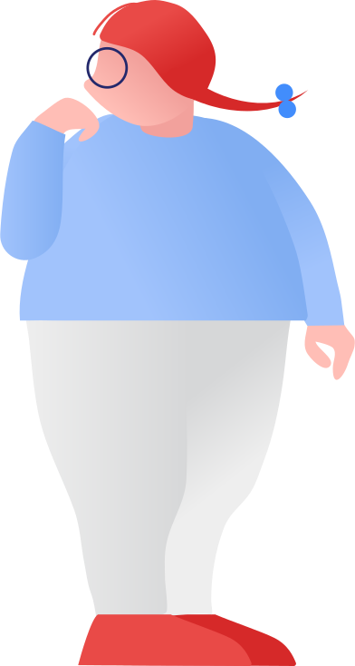 style fat girl standing images in PNG and SVG | Icons8 Illustrations