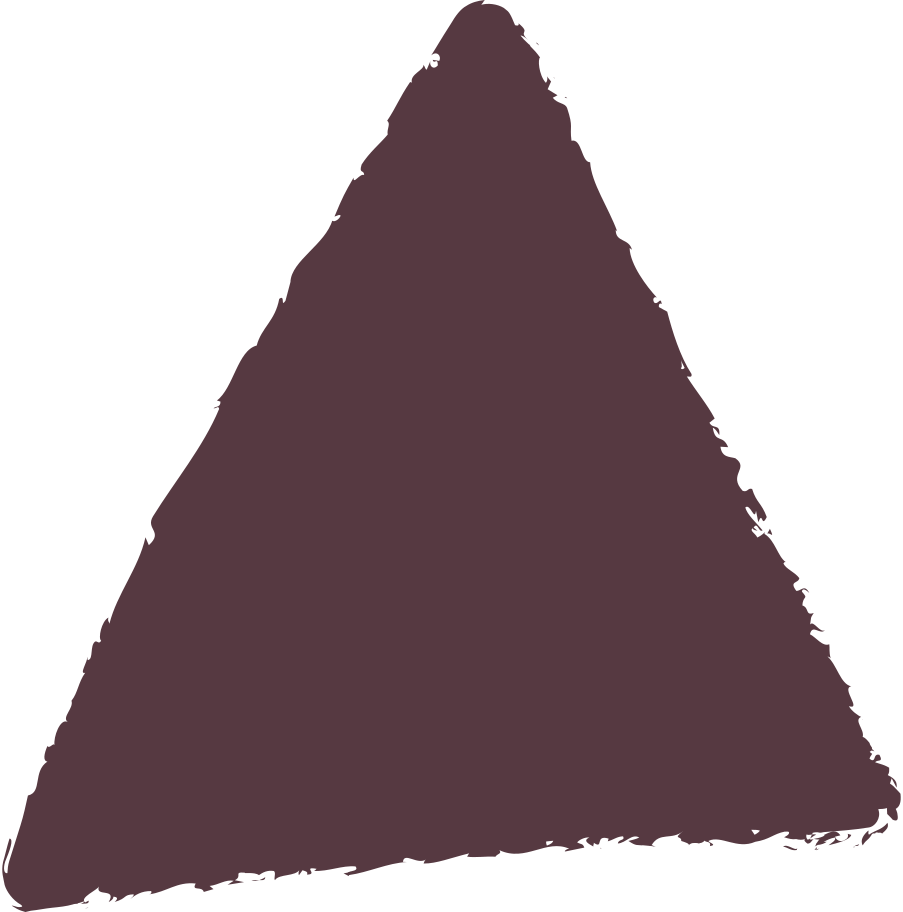 triangle-dark-brown Clipart illustration in PNG, SVG