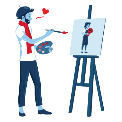 style Unexpected love images in PNG and SVG | Icons8 Illustrations