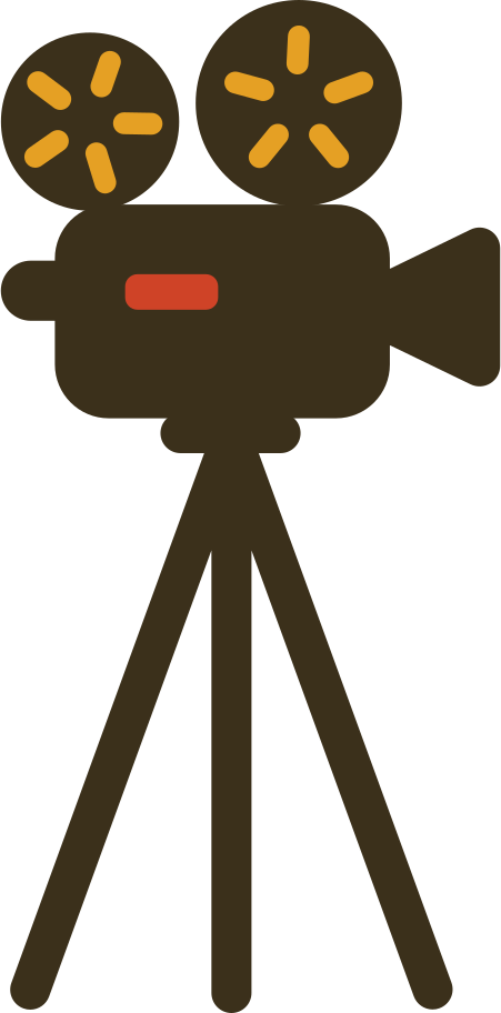 camera movie video Clipart illustration in PNG, SVG