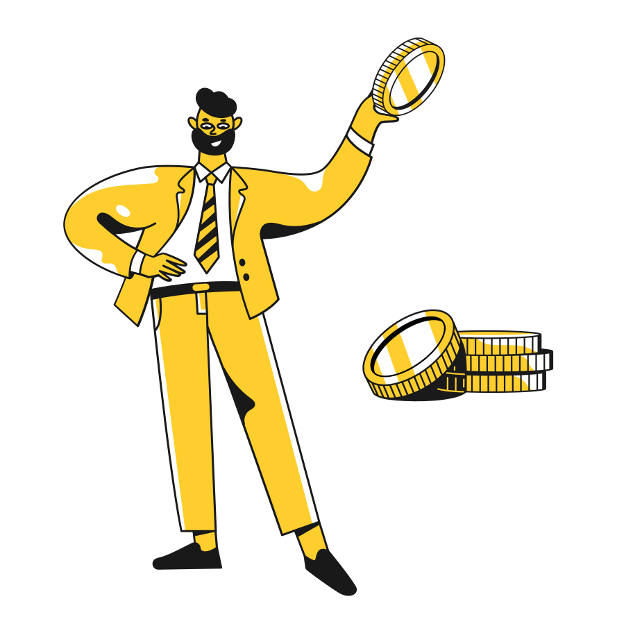 Successful business Clipart illustration in PNG, SVG
