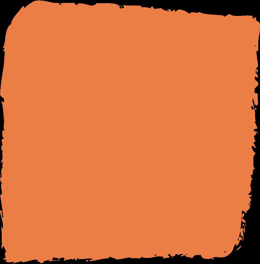 square-orange Clipart illustration in PNG, SVG