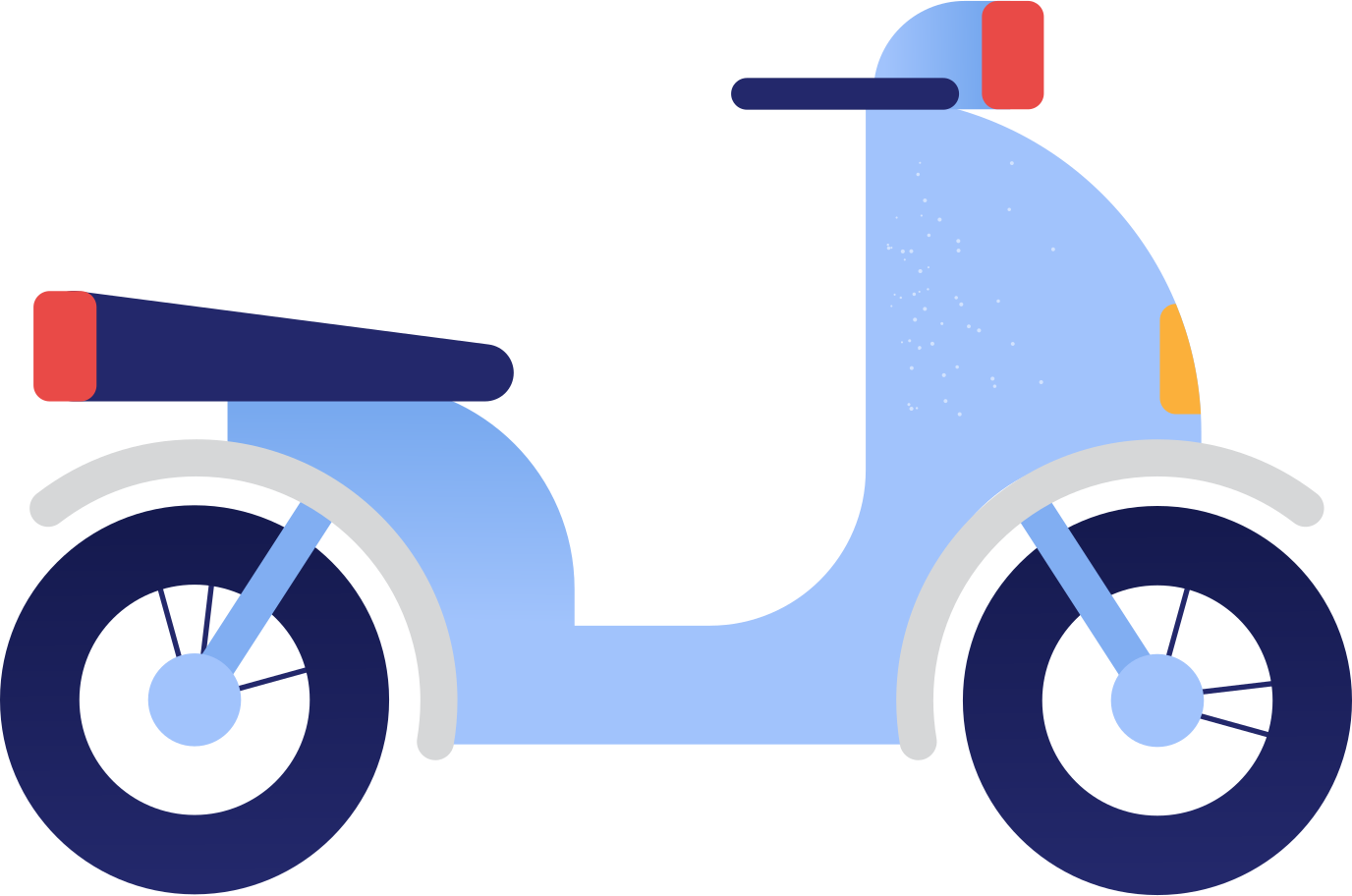 motocycle Clipart illustration in PNG, SVG