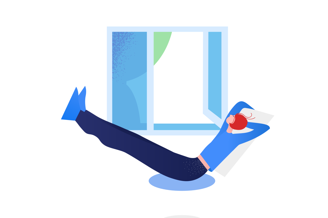 Relax and stay home Clipart illustration in PNG, SVG
