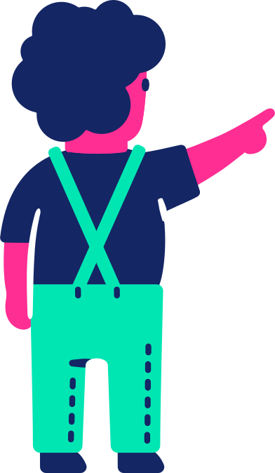 style child back pointing up images in PNG and SVG | Icons8 Illustrations