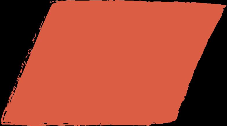 parallelogram-red Clipart illustration in PNG, SVG