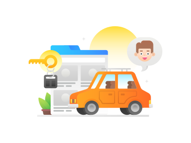 style Car rental images in PNG and SVG | Icons8 Illustrations
