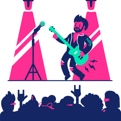 style Concert images in PNG and SVG | Icons8 Illustrations