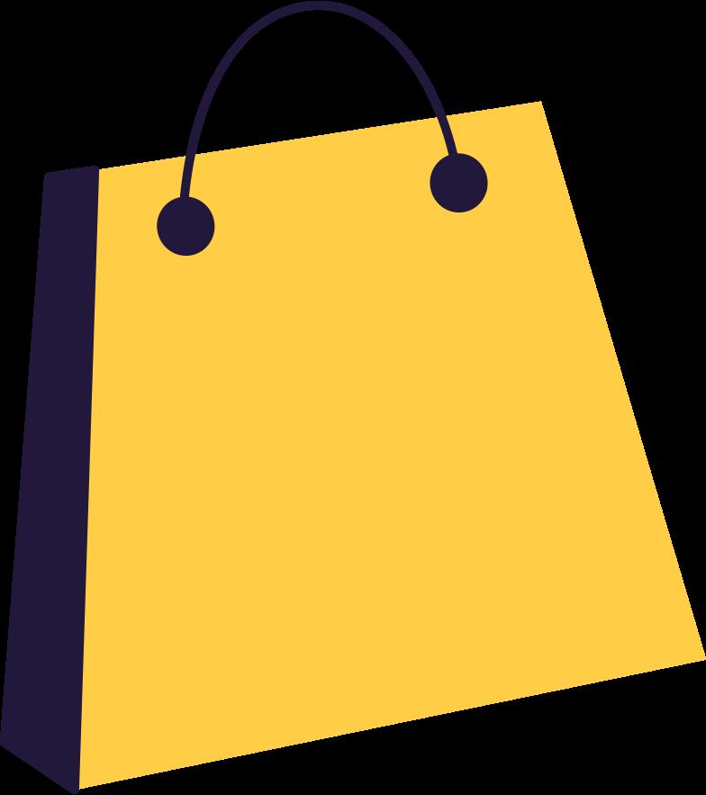 shopping bag Clipart illustration in PNG, SVG