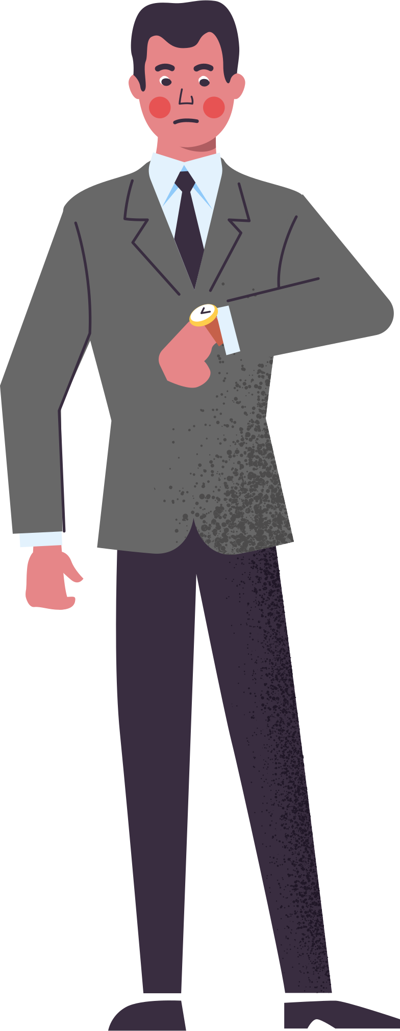 man-in-suit Clipart illustration in PNG, SVG