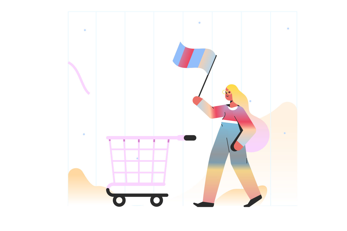 Finishing order Clipart illustration in PNG, SVG