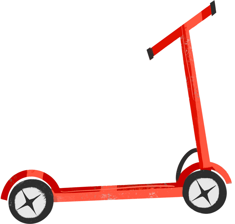 style kick scooter Vector images in PNG and SVG | Icons8 Illustrations