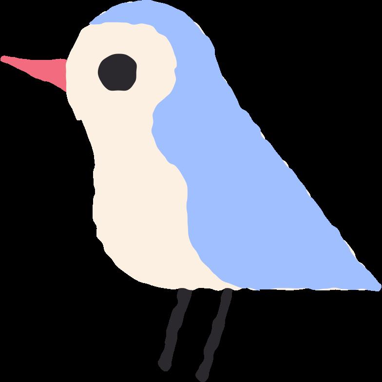 bird Clipart illustration in PNG, SVG