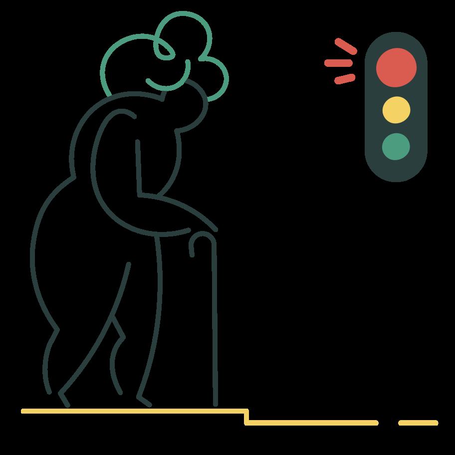 Traffic lights Clipart illustration in PNG, SVG