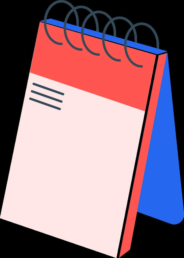 Ilustração de clipart de calendar em PNG e SVG