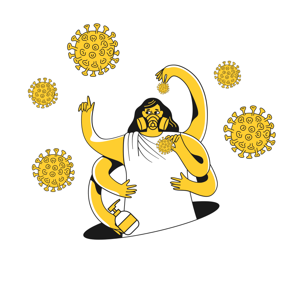 style Сatch virus molecules Vector images in PNG and SVG | Icons8 Illustrations