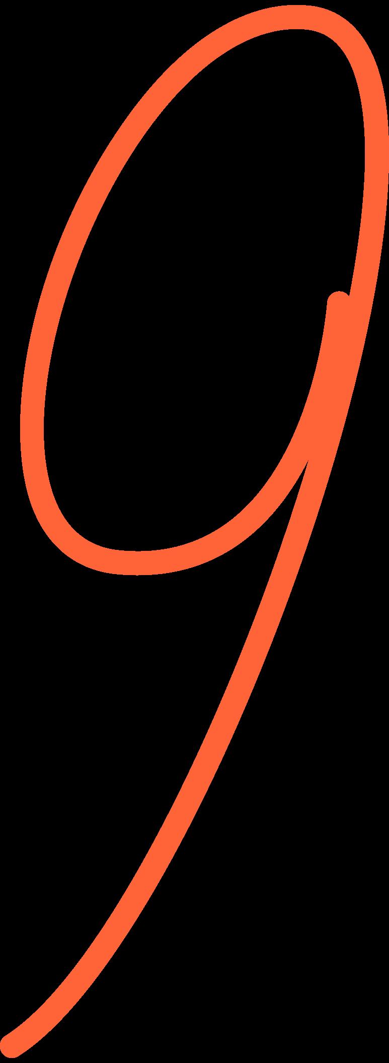 nine Clipart illustration in PNG, SVG