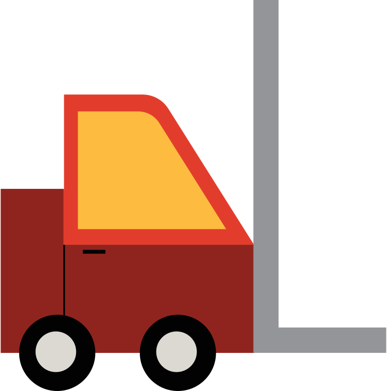 warehouse machine Clipart illustration in PNG, SVG