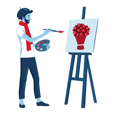 style Artist images in PNG and SVG | Icons8 Illustrations