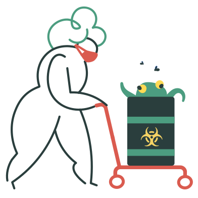 style Biohazard waste images in PNG and SVG | Icons8 Illustrations
