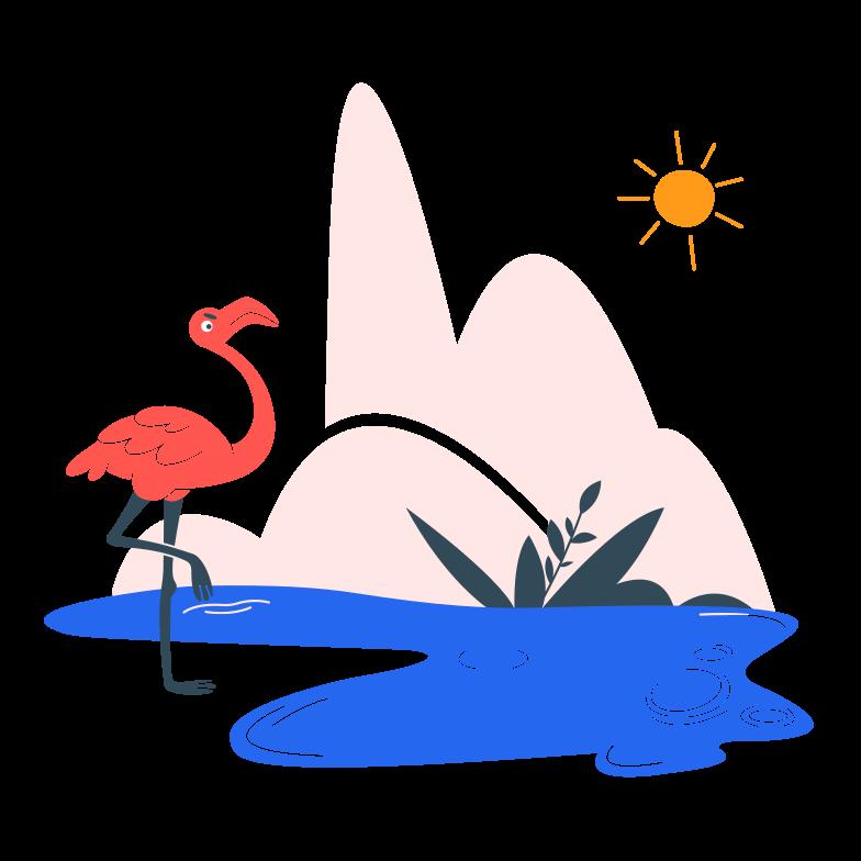 Oasis Clipart illustration in PNG, SVG