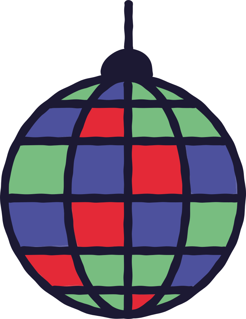 discoball Clipart illustration in PNG, SVG