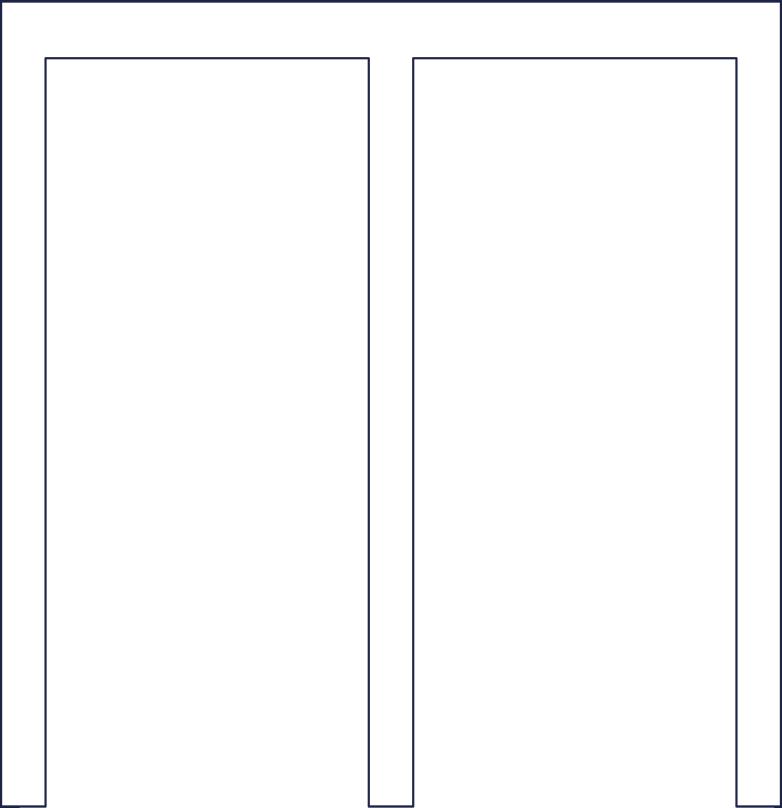 doors open line Clipart illustration in PNG, SVG