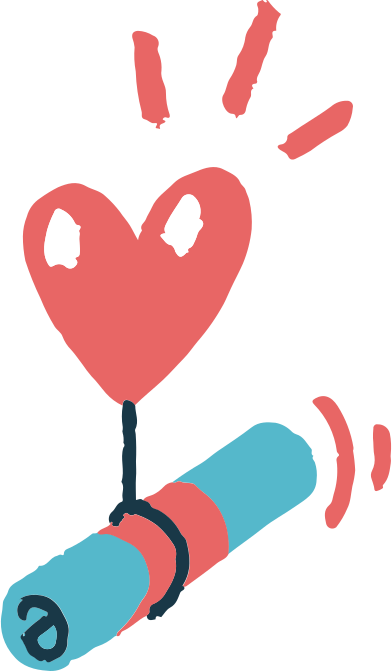 style message with heart images in PNG and SVG | Icons8 Illustrations