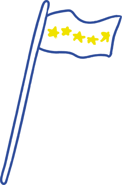 style flag with stars images in PNG and SVG | Icons8 Illustrations