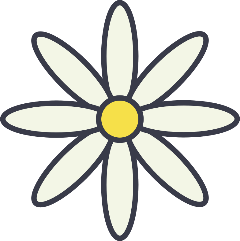chamomile Clipart illustration in PNG, SVG