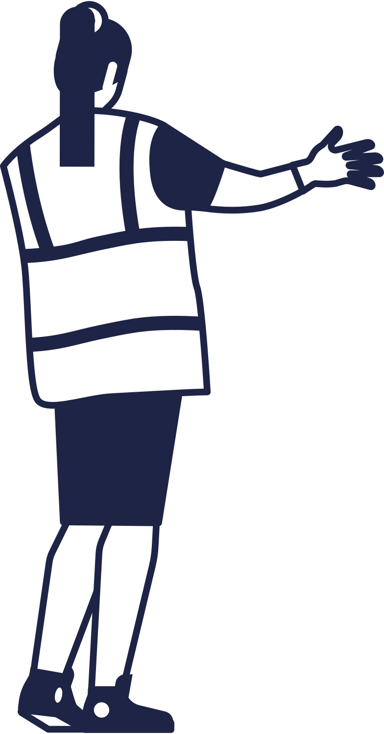 airport worker line Clipart illustration in PNG, SVG