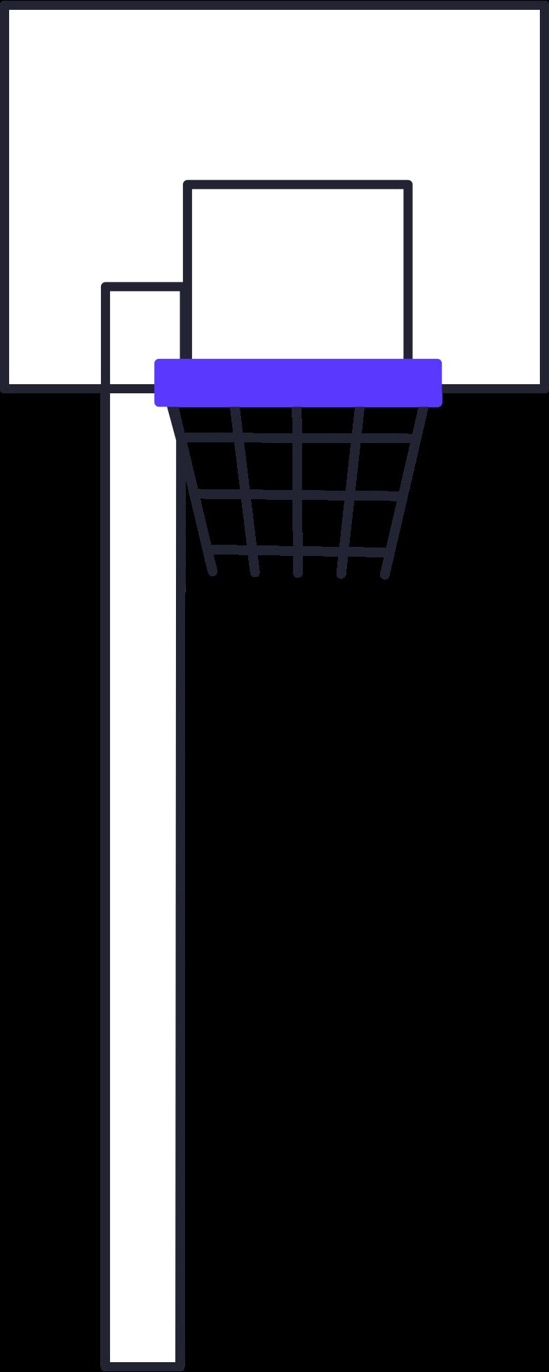 basketball hoop Clipart illustration in PNG, SVG