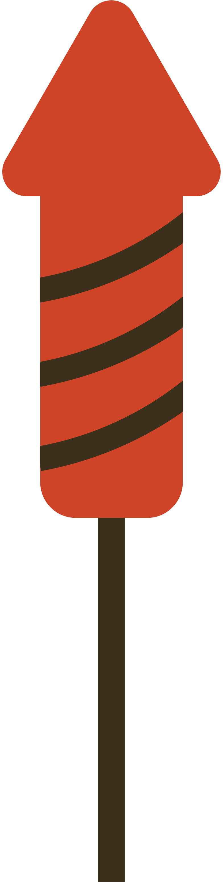 fireworks rocket Clipart illustration in PNG, SVG
