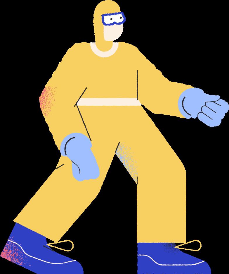 Imágenes vectoriales traje protector hombre en PNG y SVG estilo  | Ilustraciones Icons8