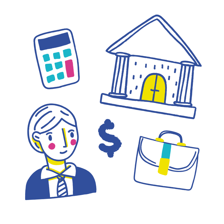 Bank employee Clipart illustration in PNG, SVG